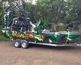 Special Projects Airboat