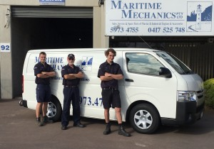Team from Maritime Mechanics